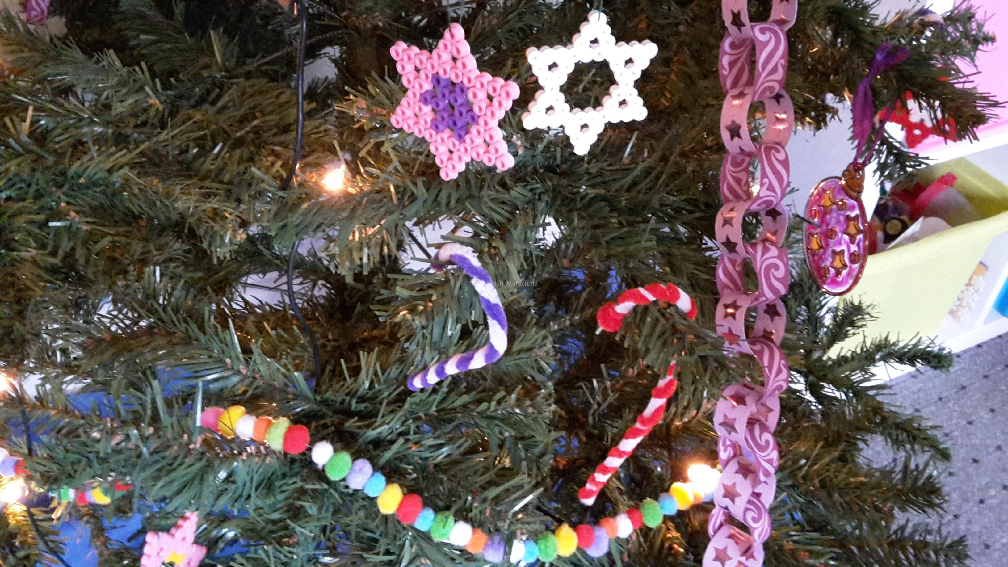 Schmuck für den Weihnachtsbaum Teil II