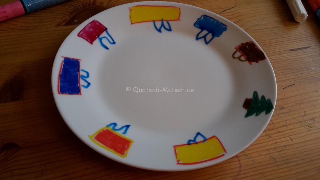 Super Geschirr selbst bemalen - Geschenkidee | Der Familienblog für ZD32