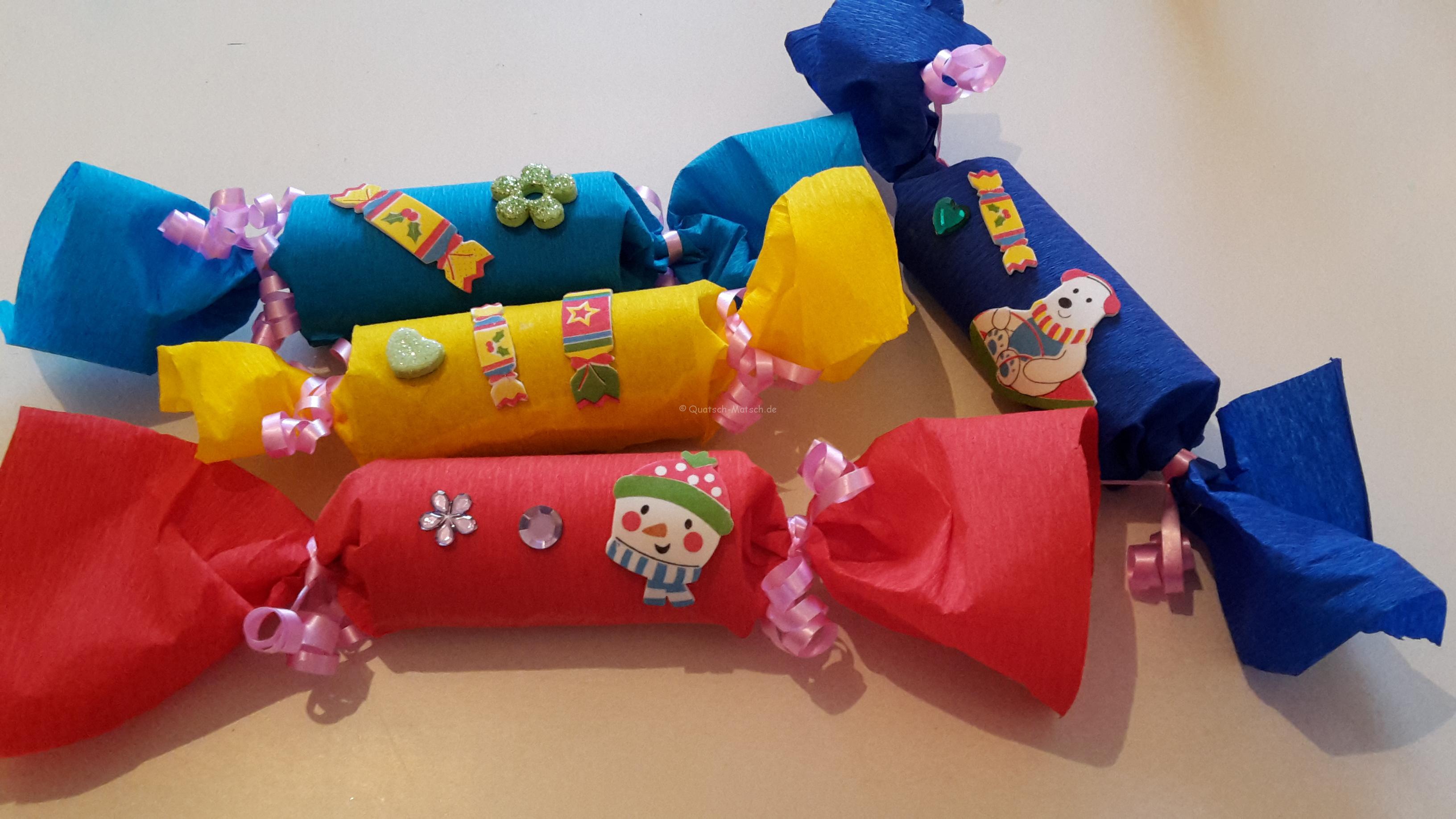Knallbonbons für Silvester – DIY für Kinder