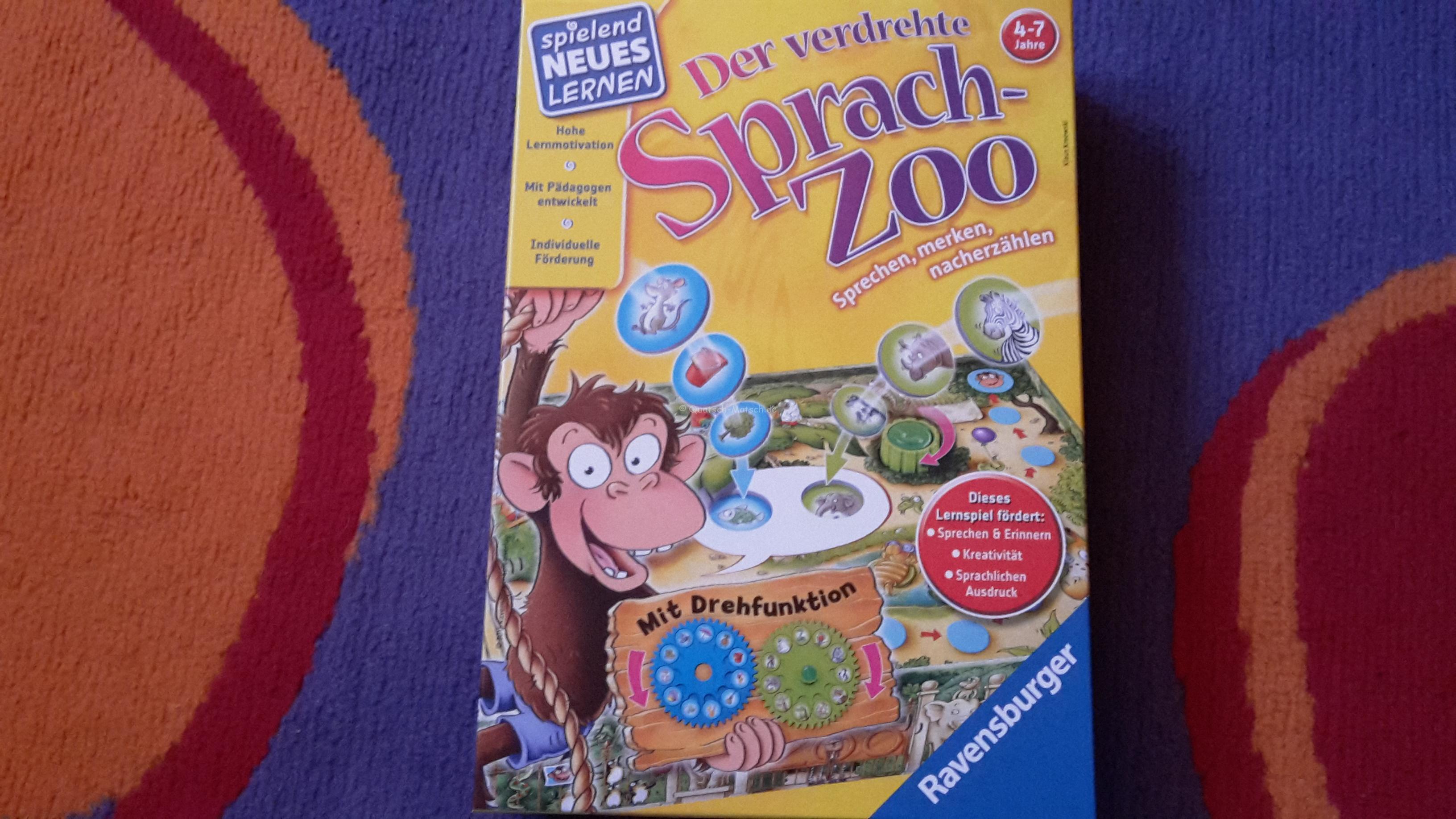 Der verdrehte Sprach-Zoo von Ravensburger