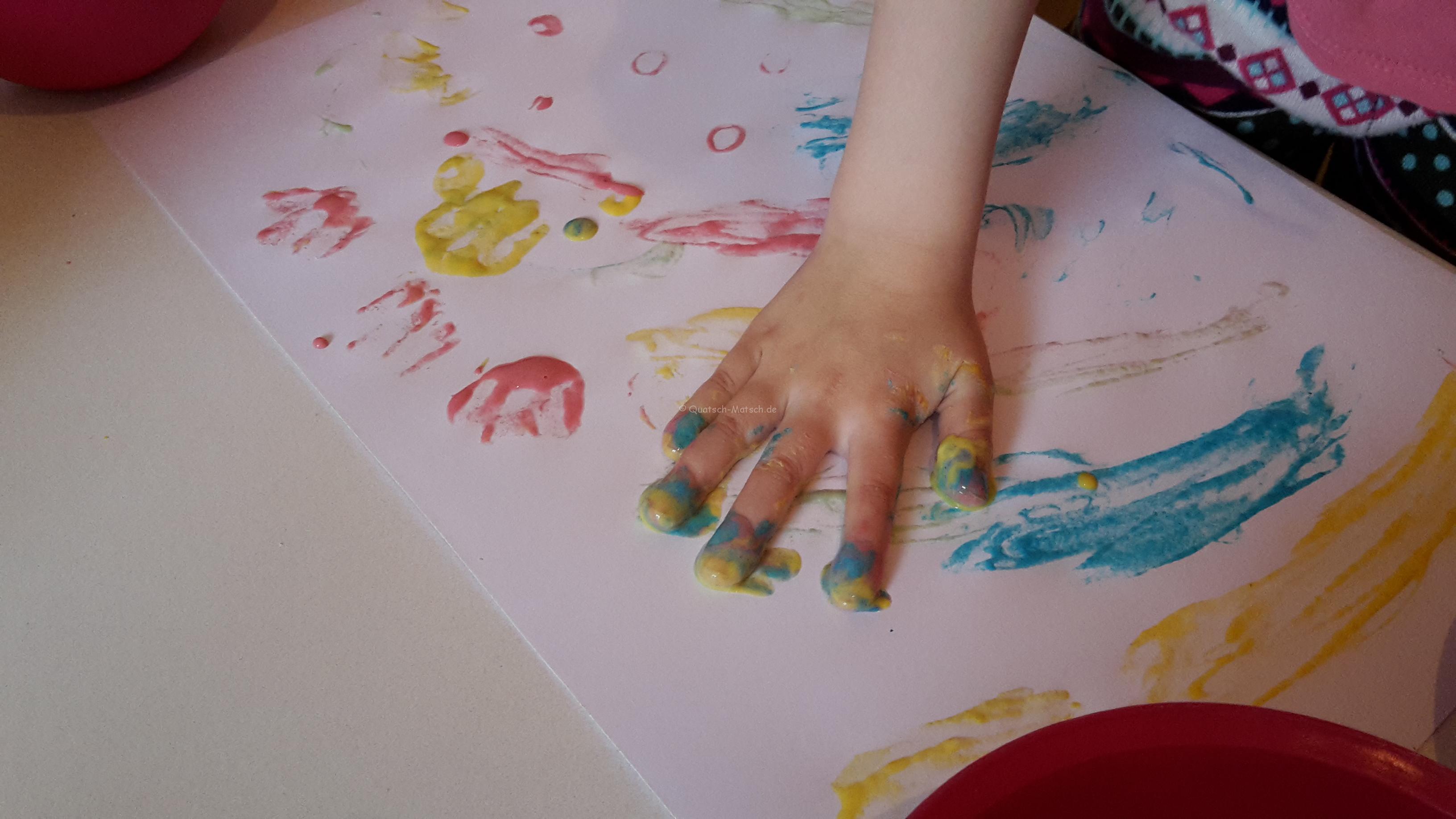 Fingermalfarben selber machen – DIY