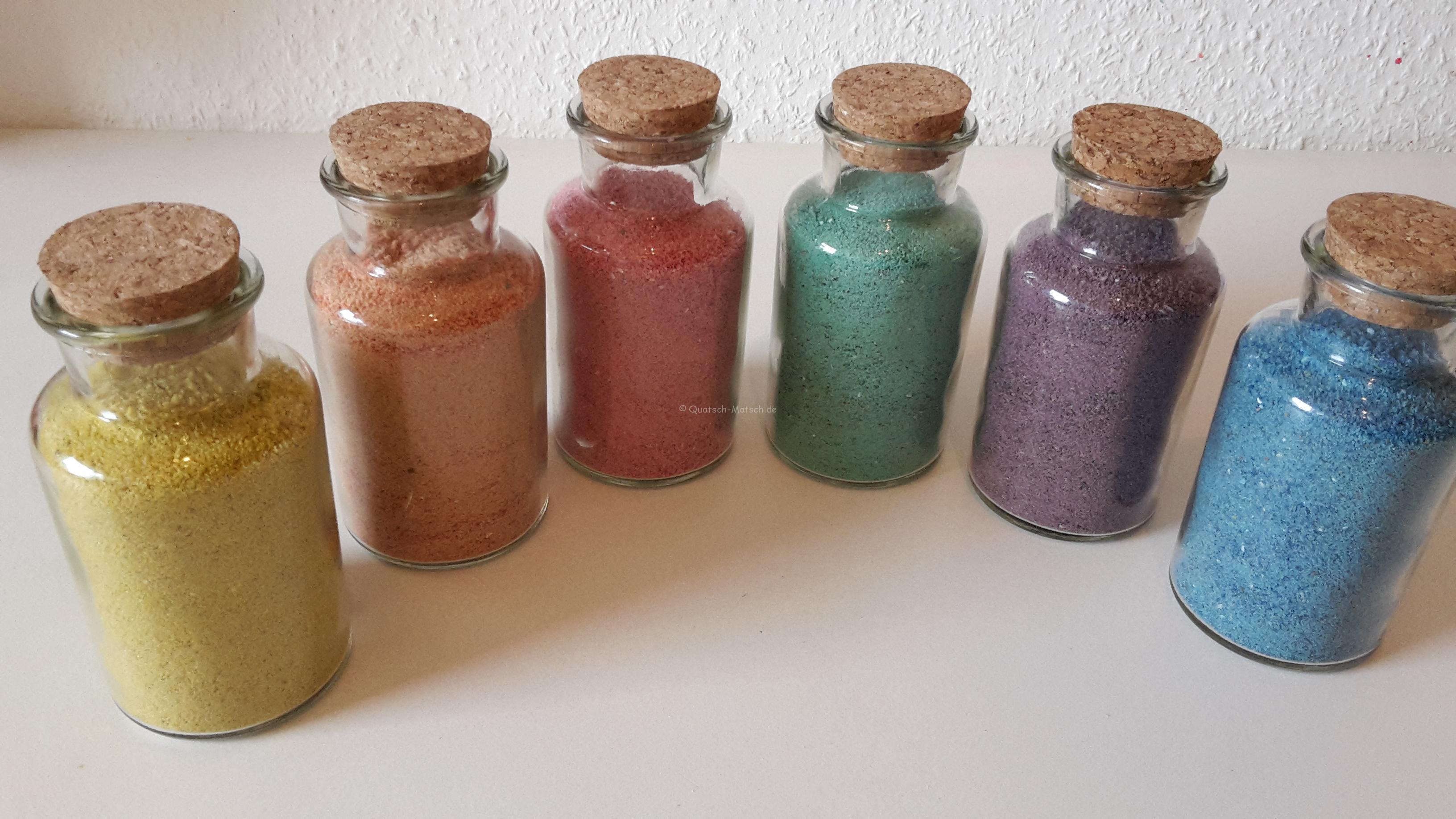 Sand selber färben – DIY