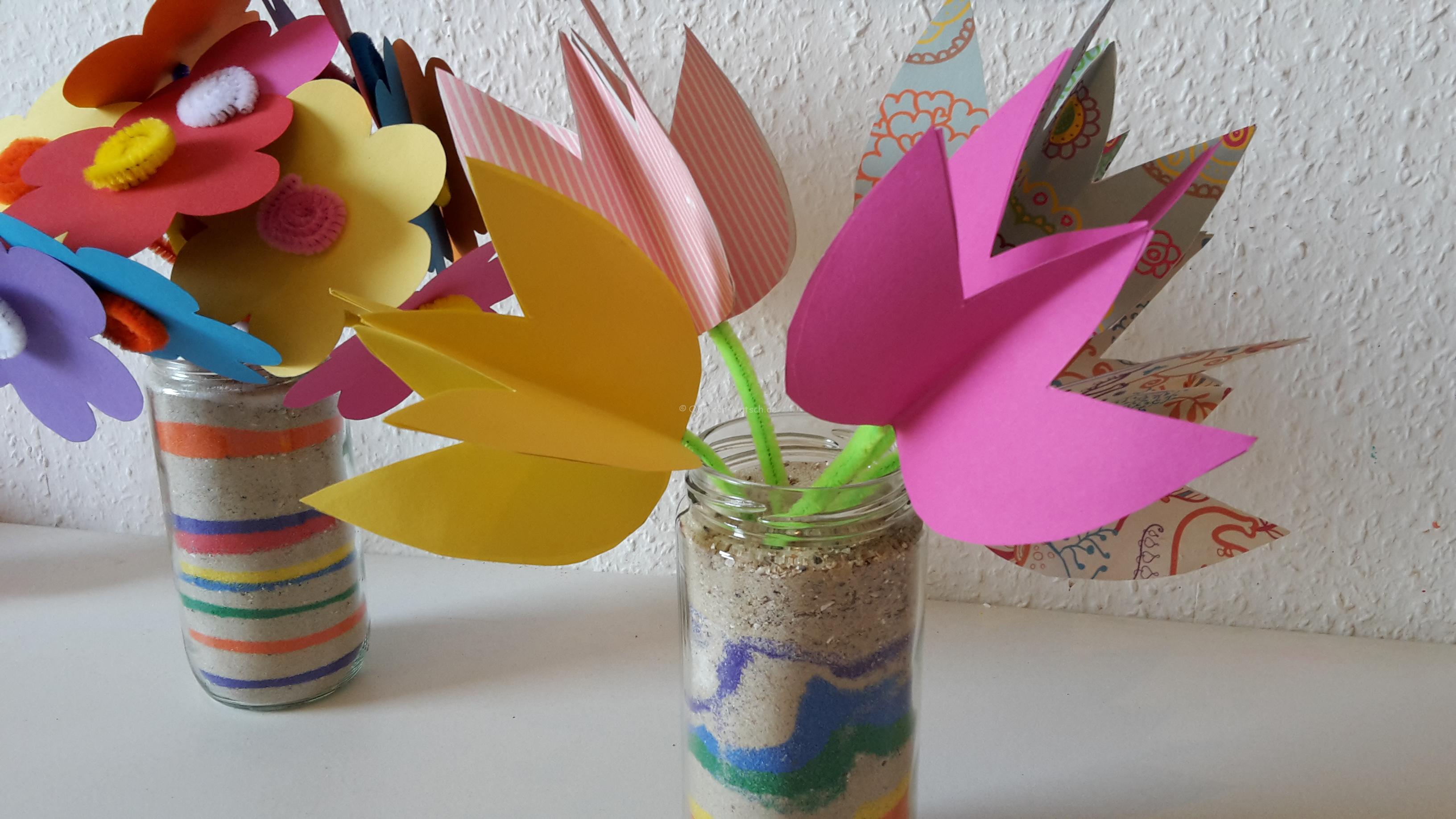 Bunte Tulpen für den Frühling – DIY