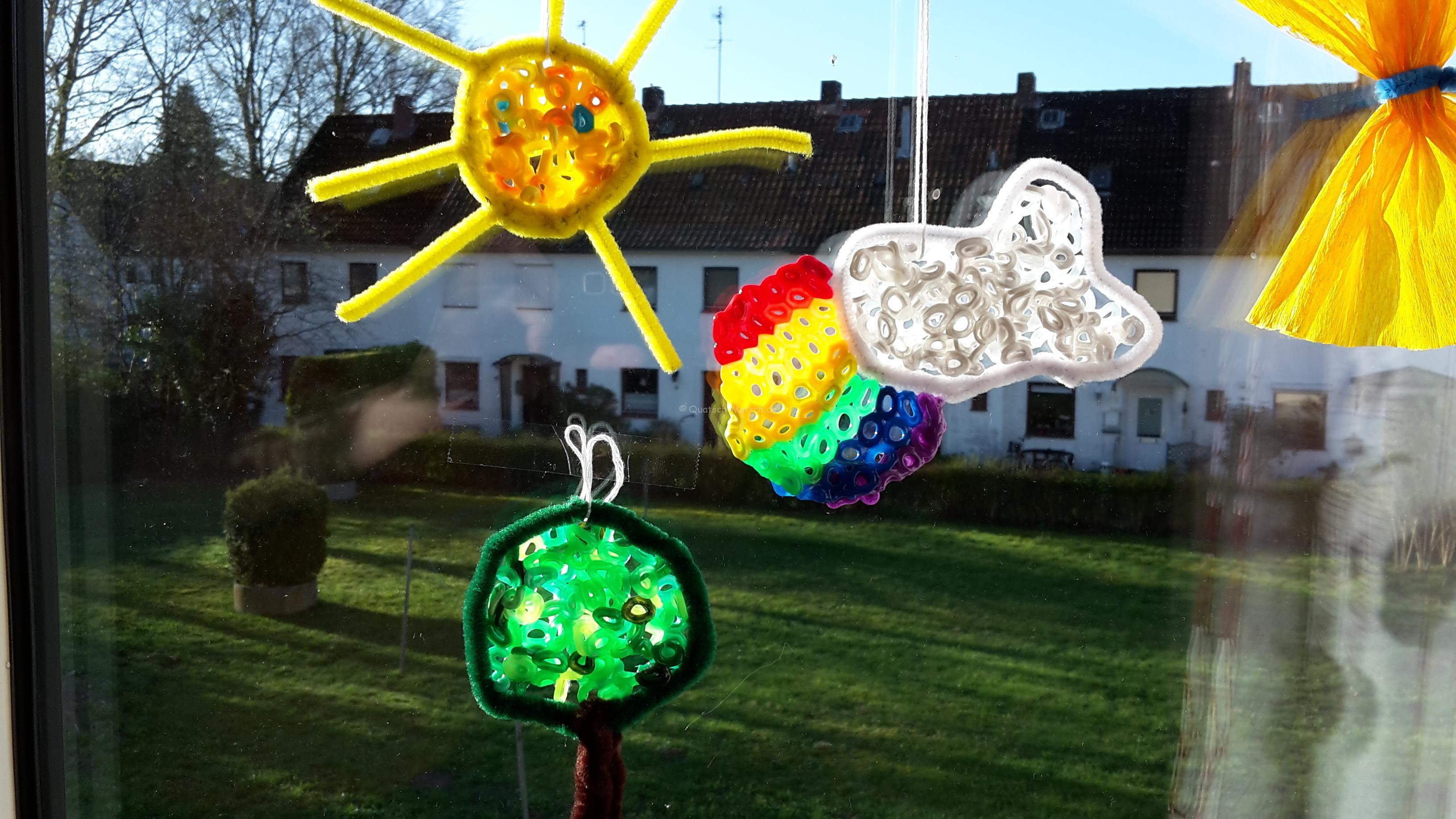 Suncatcher mit Bügelperlen – DIY