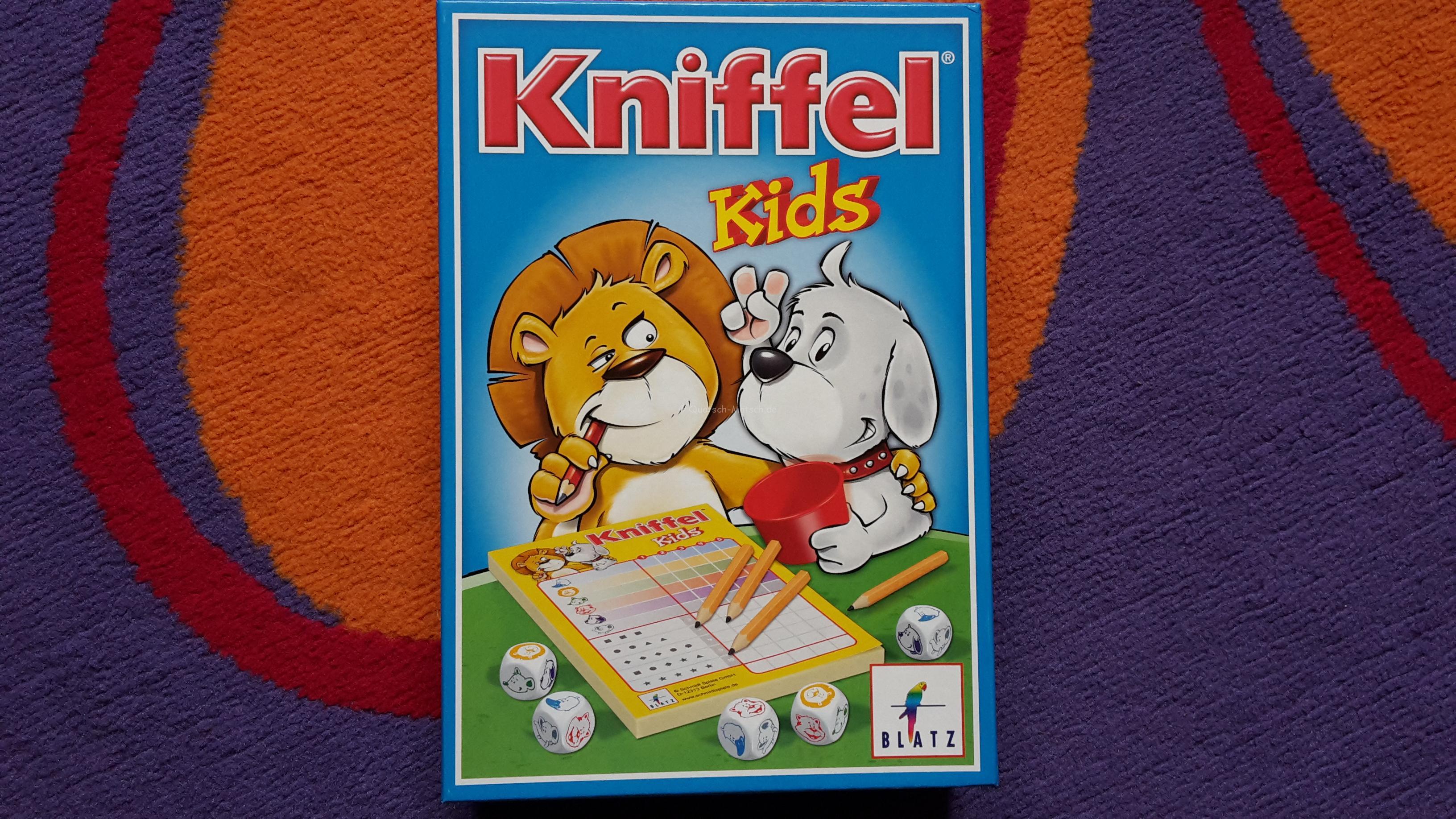 Kinder Kniffel im Spieletest