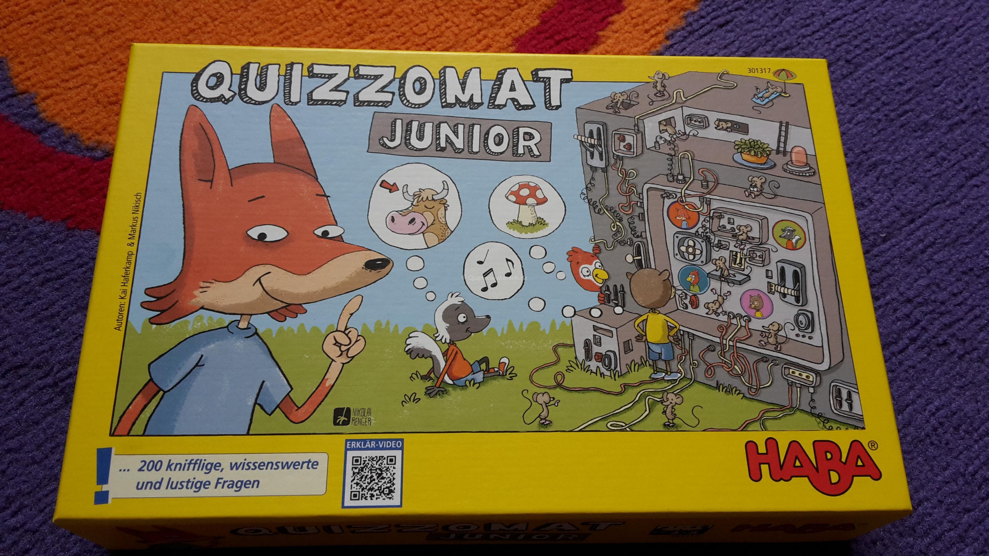 Quizzomat Junior von HABA