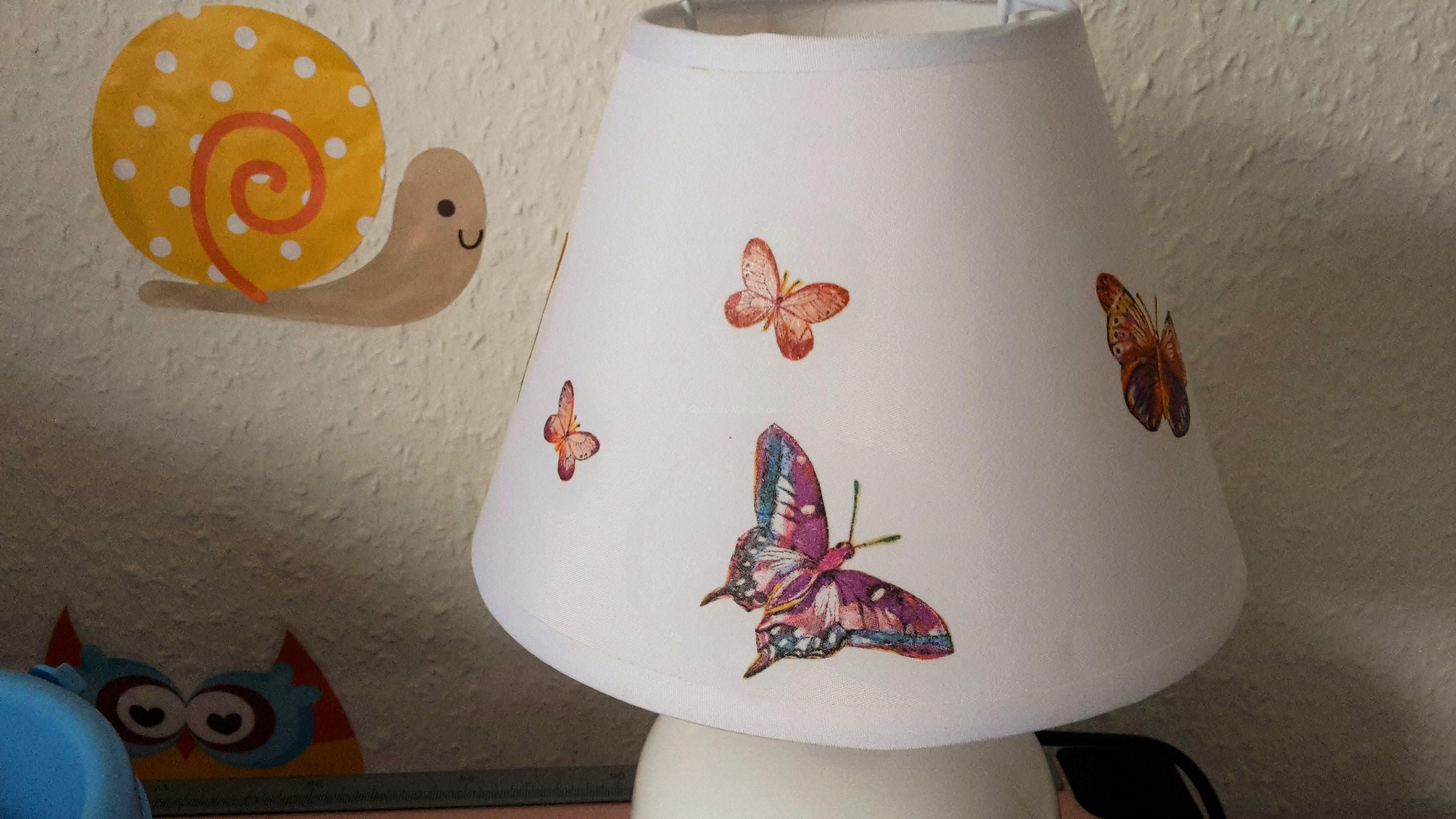 Kinderzimmerlampe selber machen