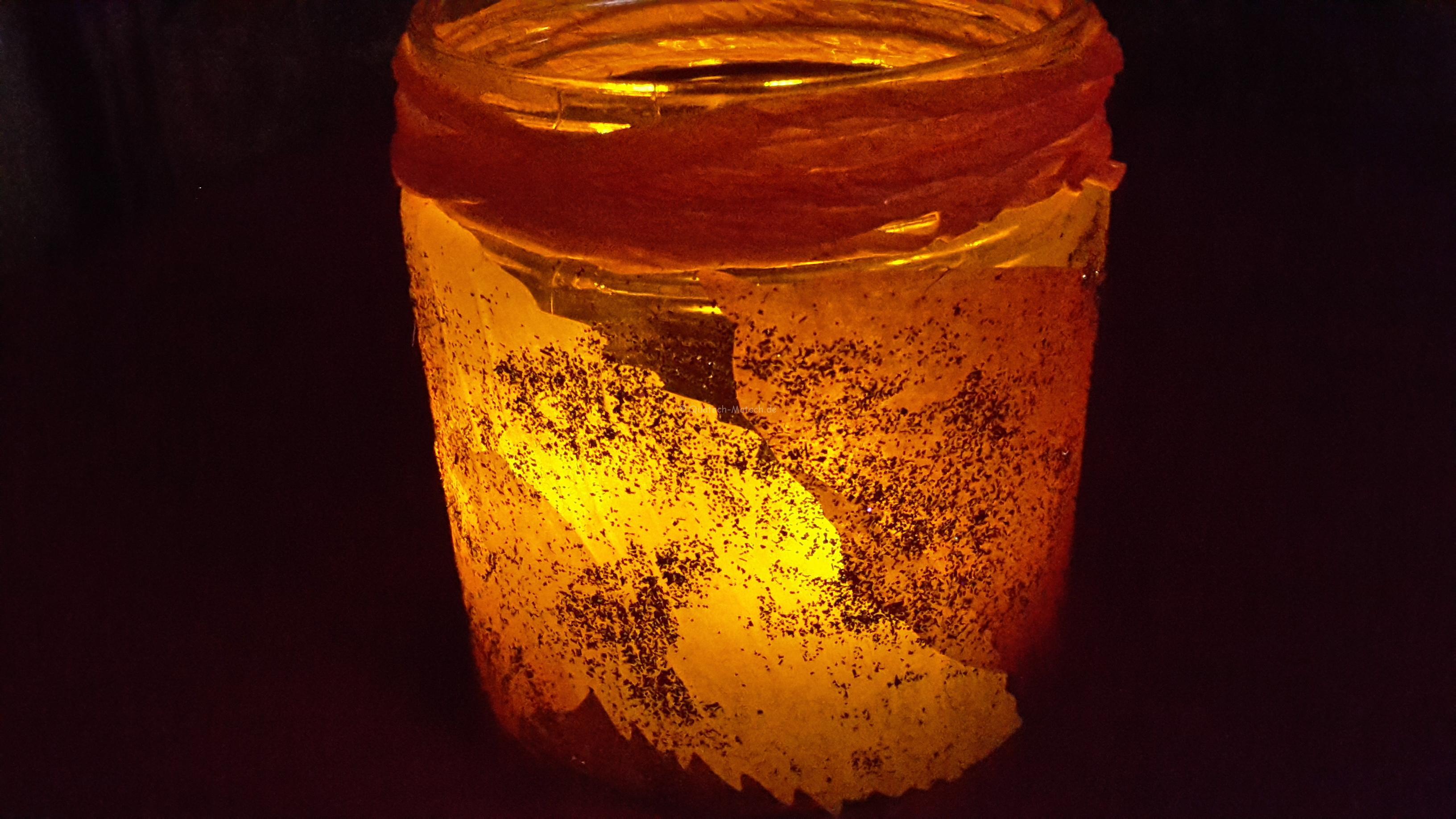 Herbstliches Windlicht selber machen – DIY