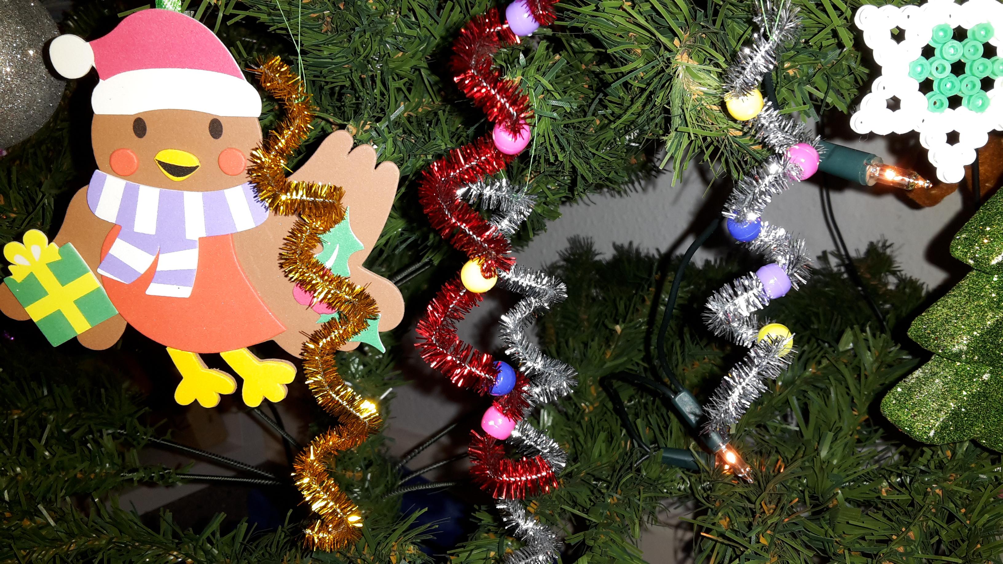 Wir schmücken den Weihnachtsbaum Teil III 2016