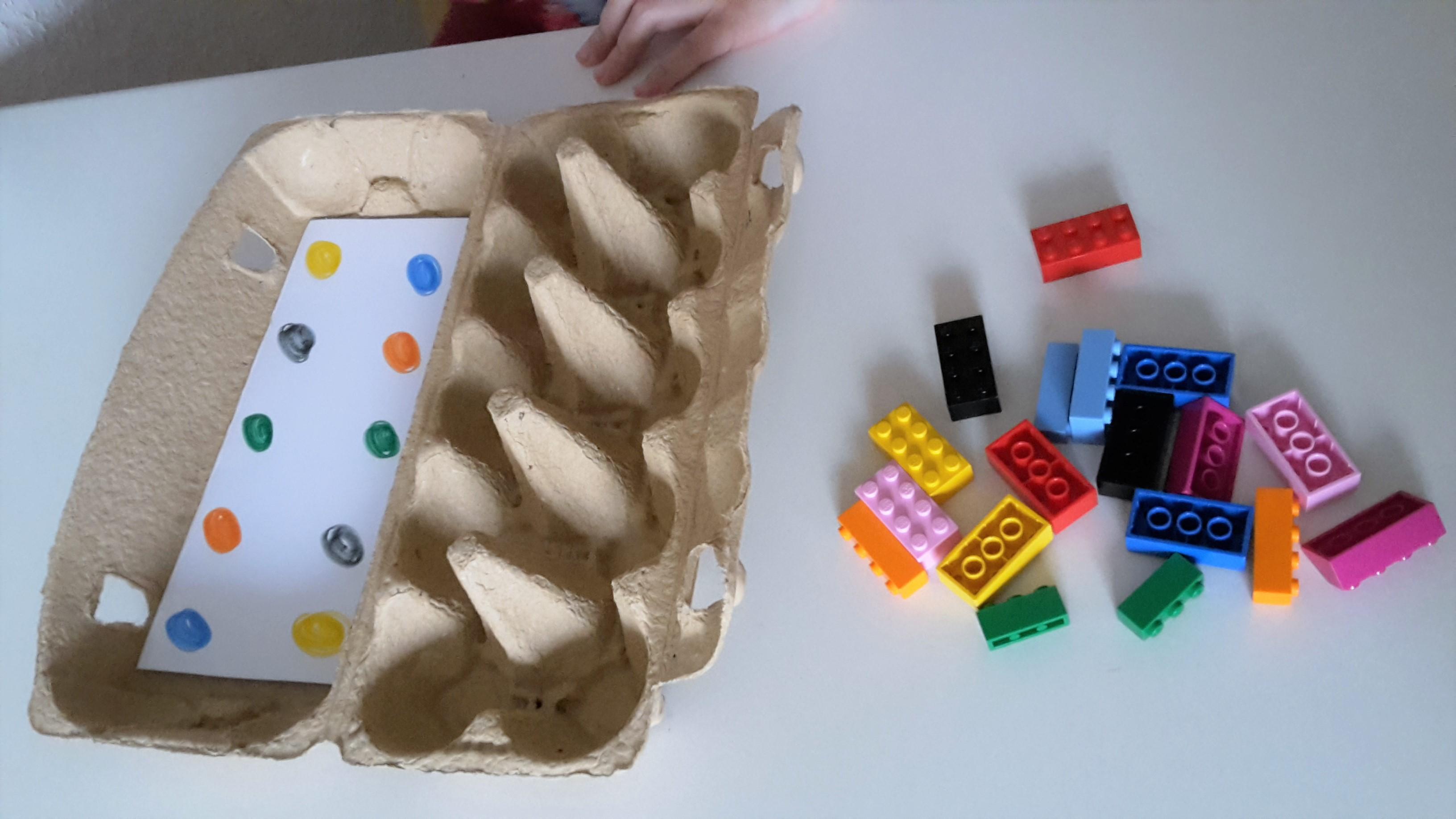 Farben zuordnen mit LEGO®