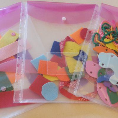 3 Ideen für Busy Bags – Teil I