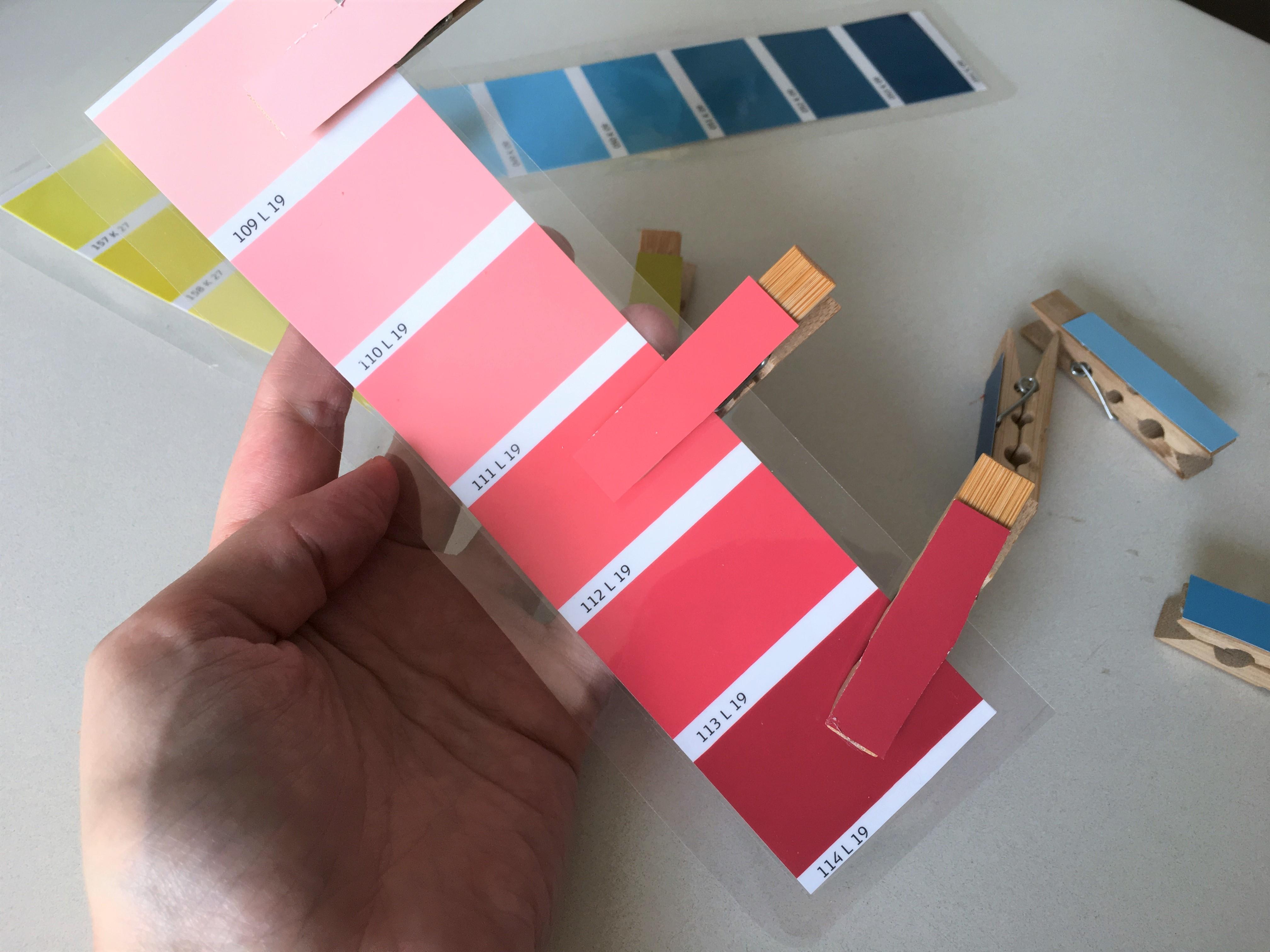 Beliebt Farben sortieren mit Wäscheklammern - Montessori | Der XY41