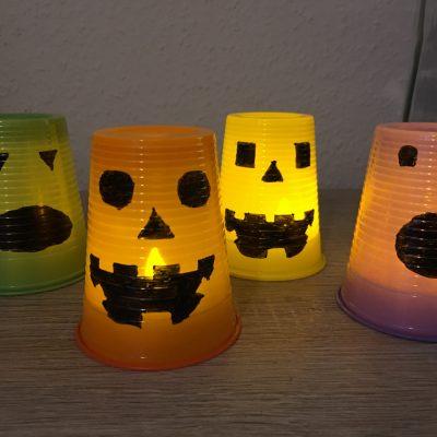 Kleine Grusellichter für Halloween