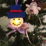 Schneemänner aus Teelichter – Deko für den Winter basteln