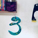 Weihnachtsbaumspirale aus Pappteller – Basteln mit Kinder