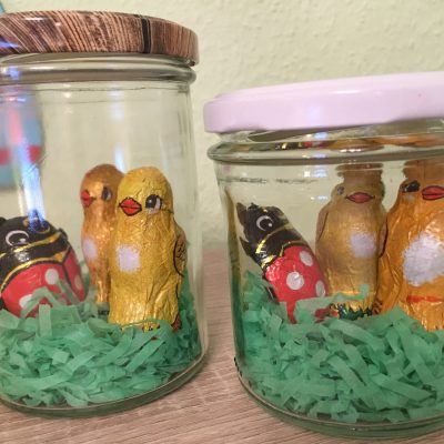 Osternest im Glas – DIY für Ostern