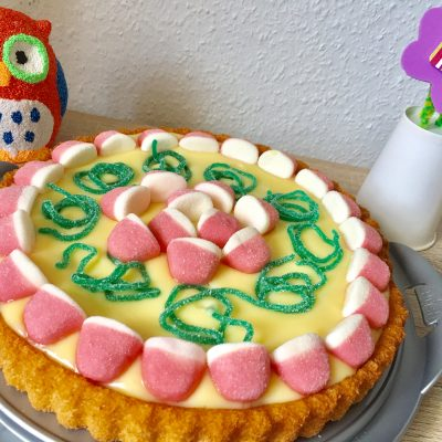 Gummibärchenkuchen – Erinnerung an die Kindheit