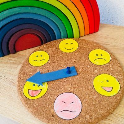 Eine Gefühle Uhr basteln – Kinder verstehen