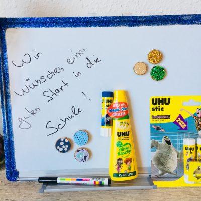Back to School 2018 von UHU® – Eine Magnettafel mal anders