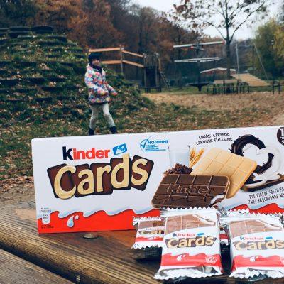 kinder Cards – Der leckere Snack für unterwegs