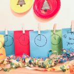 Countdown Bags selber machen – Silvester mit Kindern