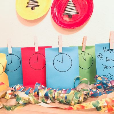 Countdown Bags selber machen – Silvester mit Kindern