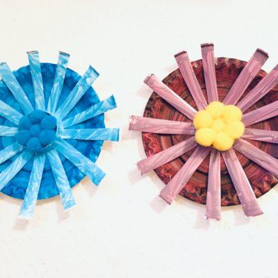 Blumen aus Papier – Basteln mit Kindern