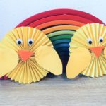Osterküken aus Papier – Basteln mit Kindern