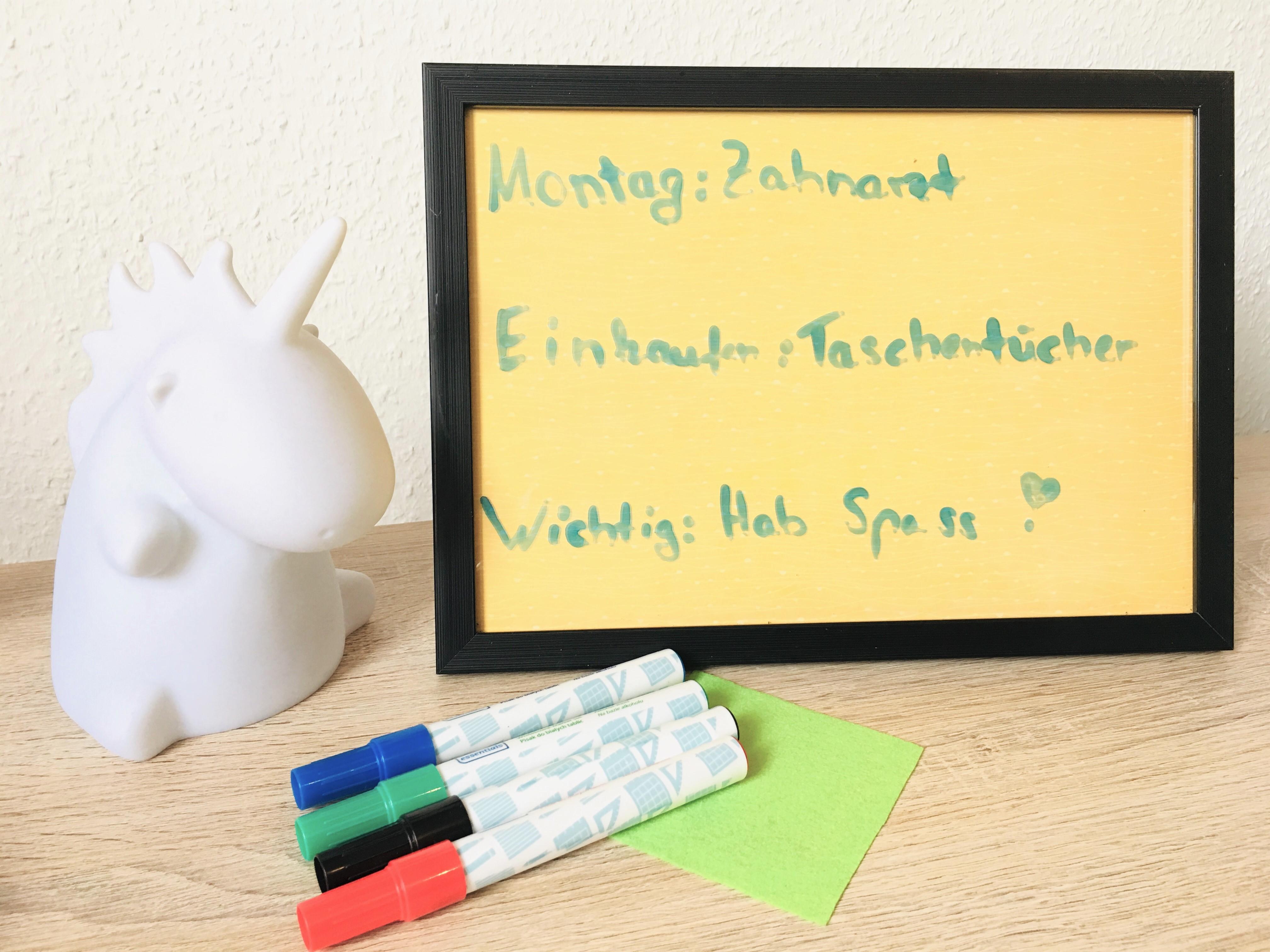 Sehr Ein Memo Board aus einem Bilderrahmen basteln - Life Hack | Der SB74