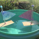 Boot aus Eisstielen basteln – Wasserspaß im Sommer