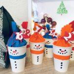 Adventskalender selber basteln – DIY mit Pappbecher