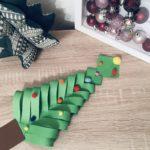 Weihnachtsbaum aus Papier mit Kindern basteln