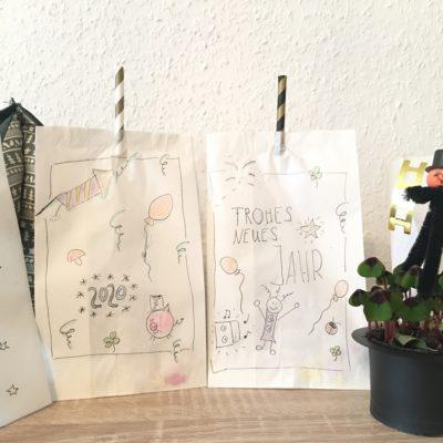Knaller aus Papiertüten – Kreativ zu Silvester
